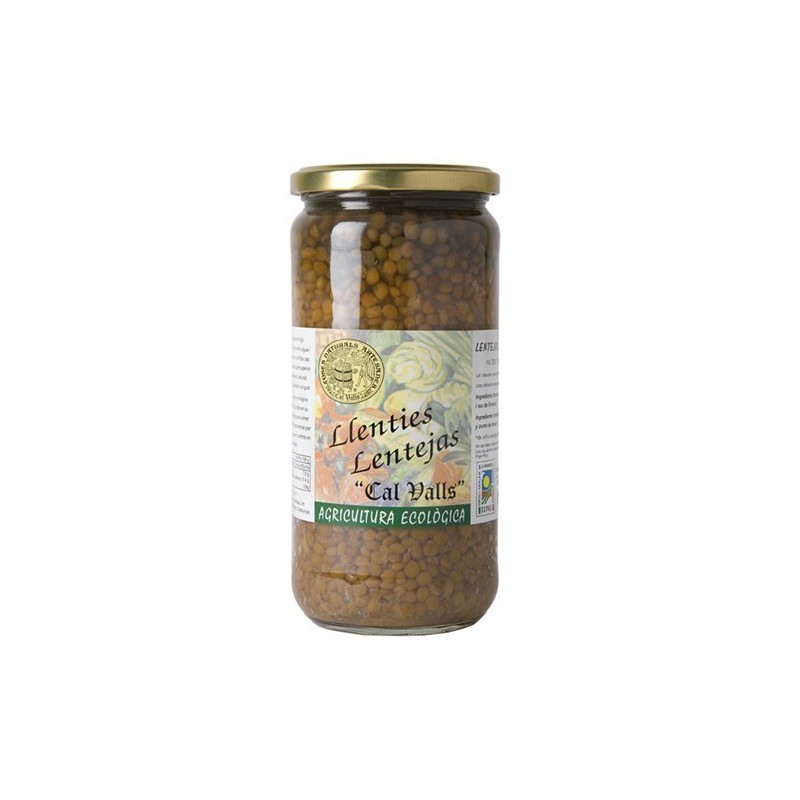 Alubias blancas cocidas ecológicas 720 g Cal Valls