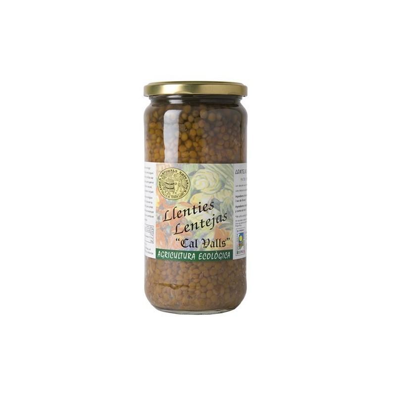Fesols blancs cuits ecològics 720 g Cal Valls