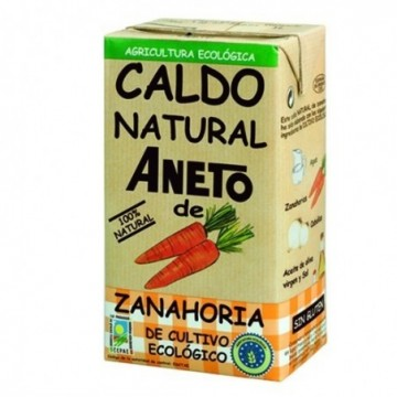 Caldo de zanahoria ecológico Aneto
