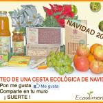 Sorteo cesta ecológica de Navidad 2014. Ecoalimentaria Barcelona