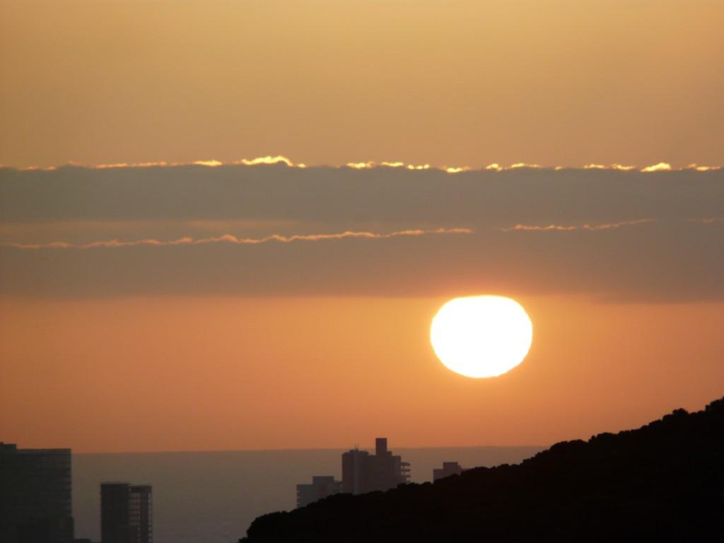 Cada amanecer es un nuevo día para vivir