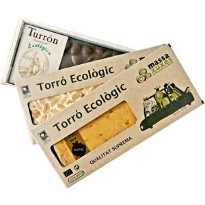 Idea de regalo ecológico. Turrones artesanos eco. Barcelona
