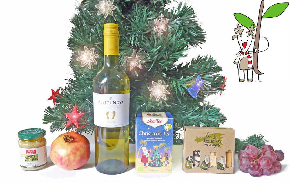 Regalos, cestas ecológicas Navidad