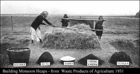 Compost método Indore