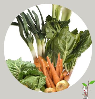 Caldo realizado con verduras ecológicas de temporada. Ecoalimentaria Barcelona